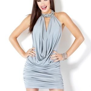 Silver Jovani Cocktail NWT